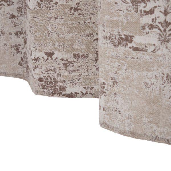 Cortina estampado algodón-poliéster