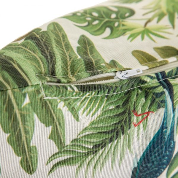 Cojín jungla algodón-poliéster