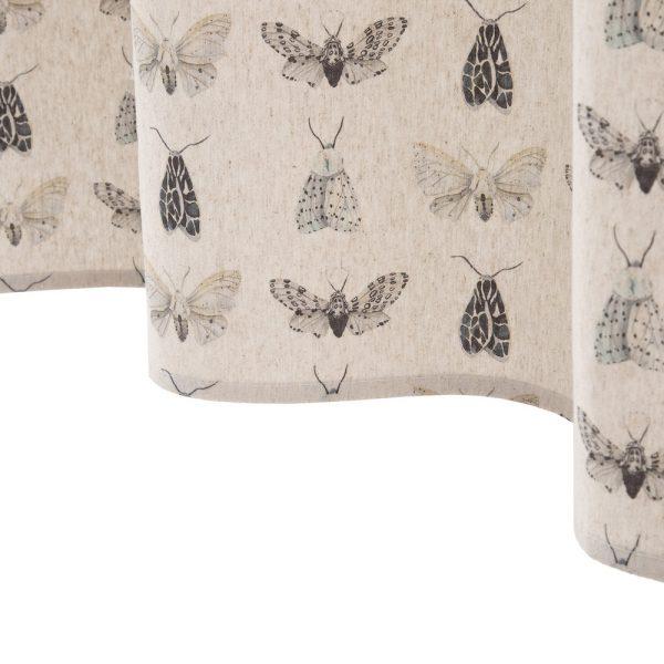 Cortina insectos algodón-poliéster