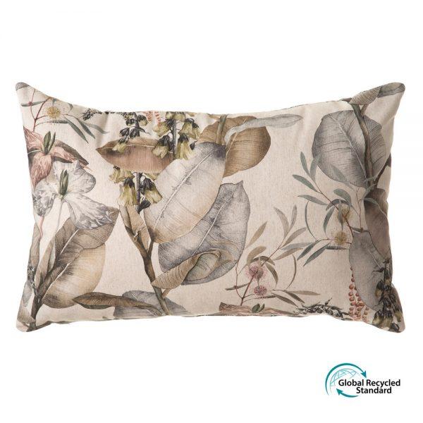 Cojín botánico algodón-poliéster