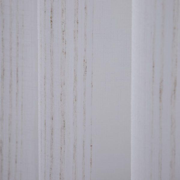 Cortina rayas beige poliester