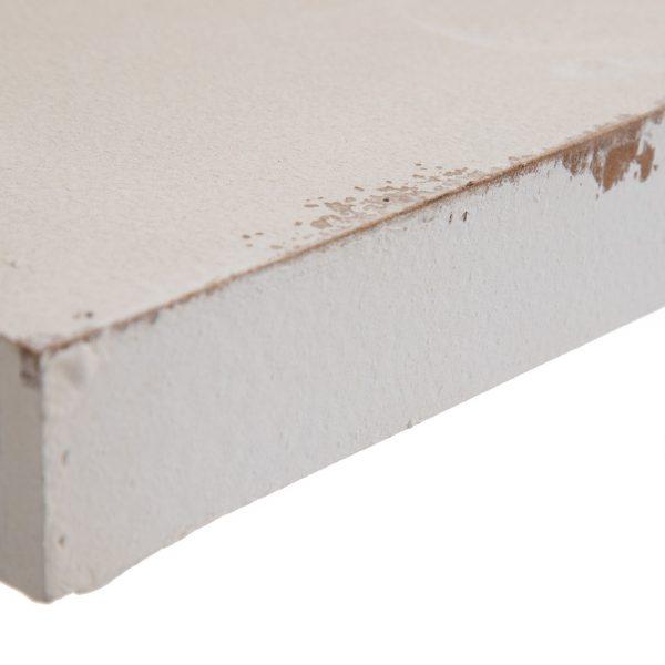 Consola blanco rozado