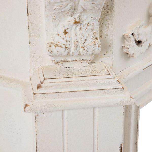 Chimenea blanco rozado