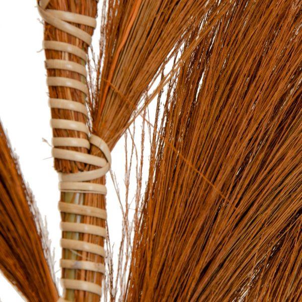 Rama marrón fibra natural decoración
