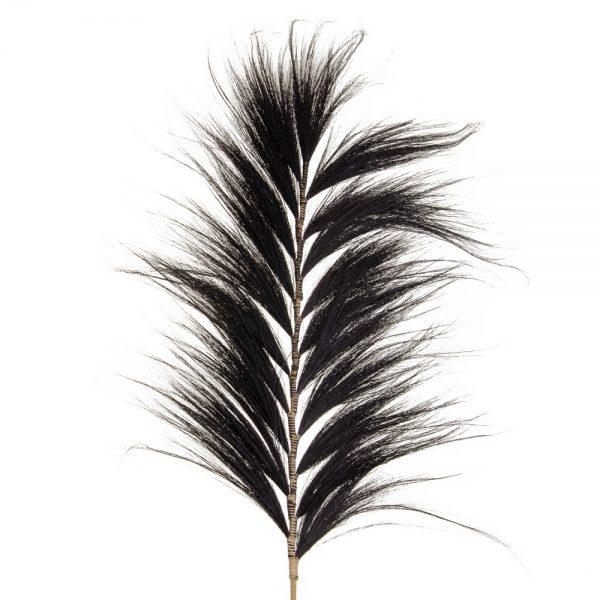 Rama negro fibra natural decoración