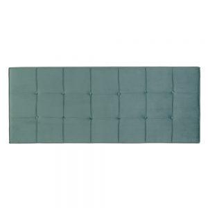 Cabecero aguamarina tejido dormitorio