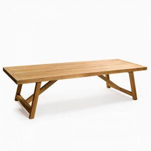 Mesa de comedor madera teca