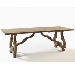 Mesa madera roble grisacea