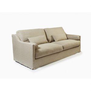 Sofa de lino 2 plazas crudo