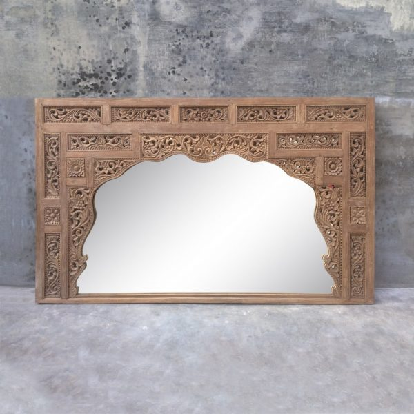 Espejo antiguo madera de teka