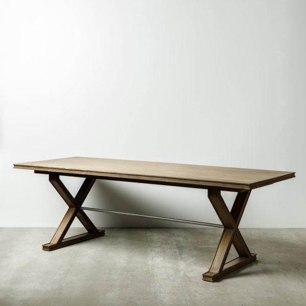 Mesa comedor natural madera mindi