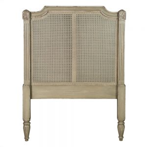 Cabecero beige madera dormitorio