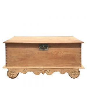 Arcón antiguo madera de teka