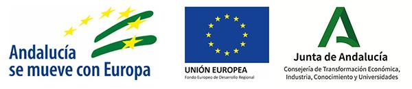 Subvención cofinanciada por la Unión Europea a través del Fondo Europeo de Desarrollo Regional y la Administración de la Junta de Andalucía