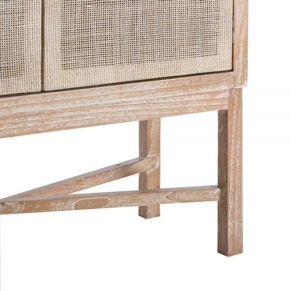 Armario natural lavado madera mindi