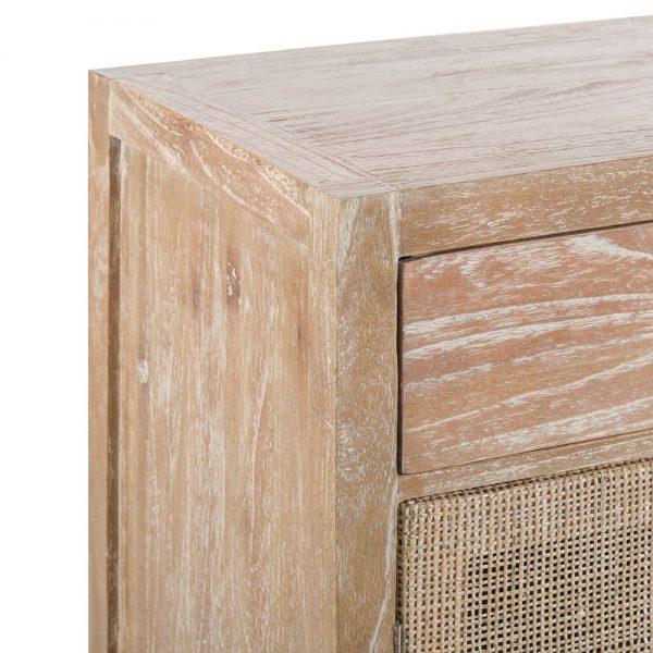 Aparador natural lavado madera mindi