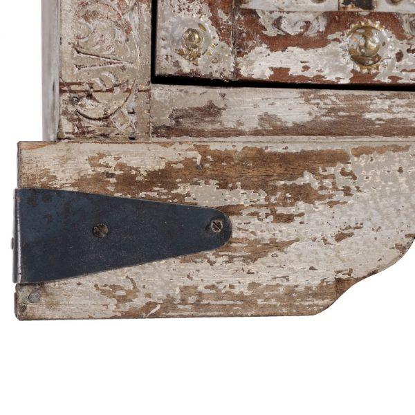 Aparador rajhastan gris-marrón madera