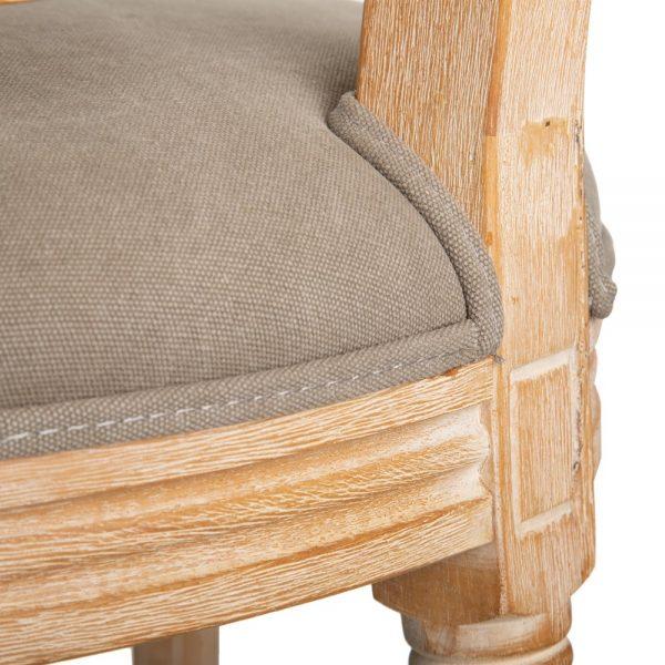 Silla tejido-madera clásico salón