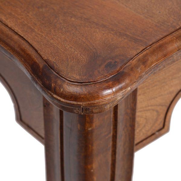 Mesa comedor marrón madera de mango