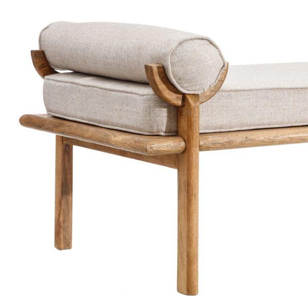 Sofá deco natural-marrón