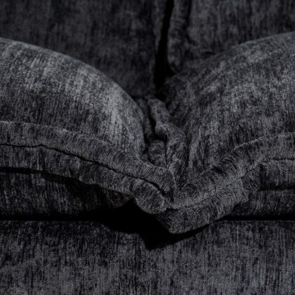 Sofá 2 plazas gris oscuro
