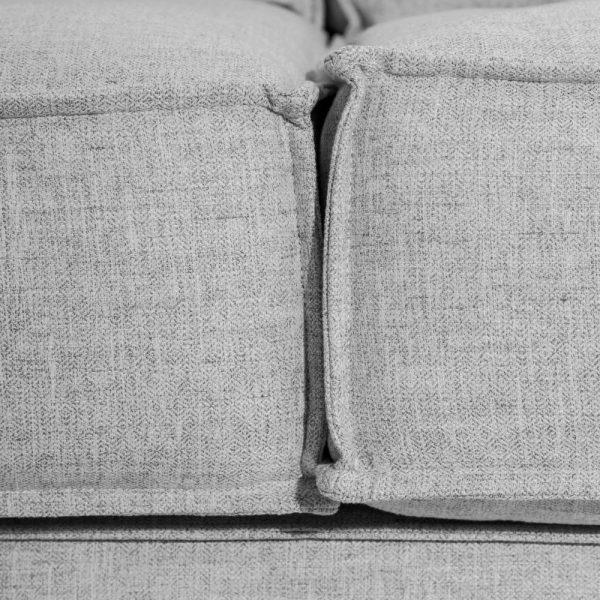 Sofá 3 plazas gris claro