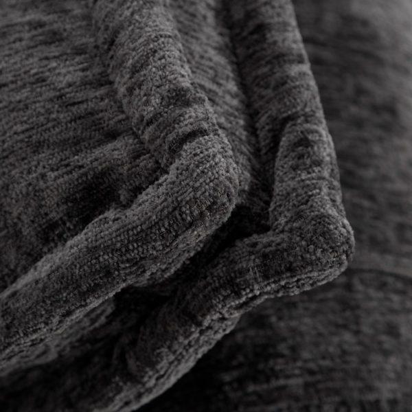 Sofá 1 plaza gris oscuro