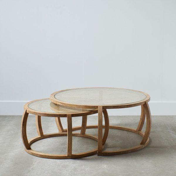 mesa auxiliar natural