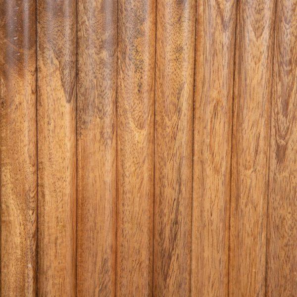Mueble tv marrón oscuro madera de mango