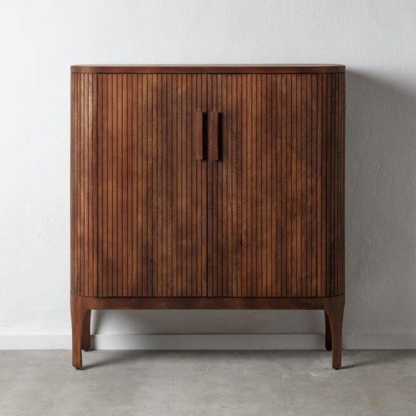 Armario marrón madera salón