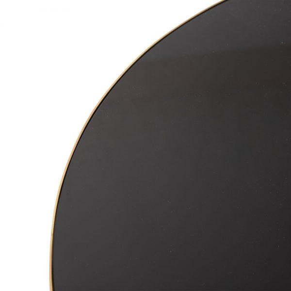 Mesa auxiliar negro-oro