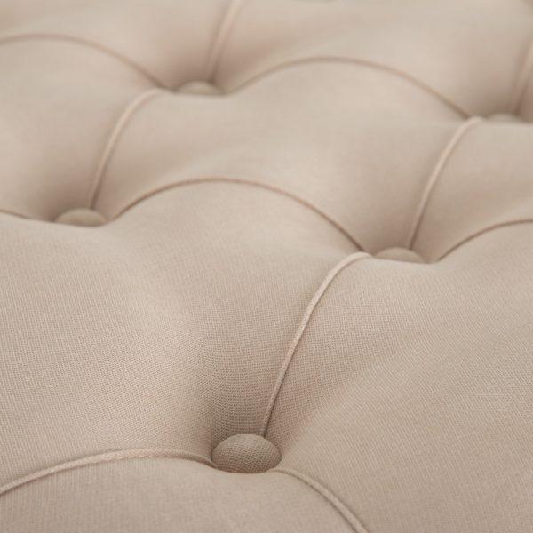 Mesa centro capitone natural-beige