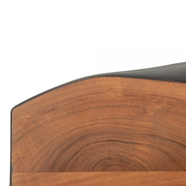 Mesa comedor marrón-negro