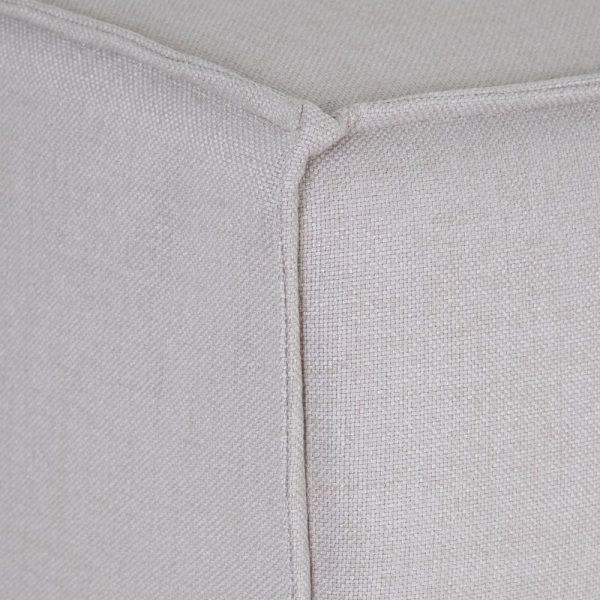 Módulo intermedio corto gris tejido