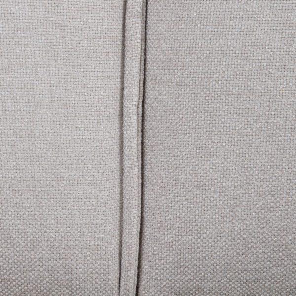 Esquina módulo izda largo gris tejido