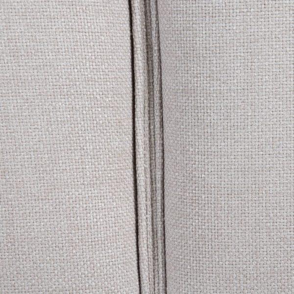 Esquina módulo dcha largo gris tejido
