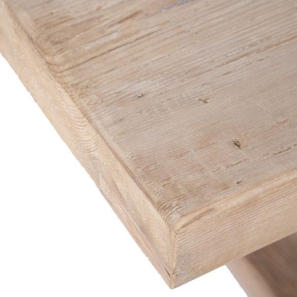 Mesa centro natural madera de pino