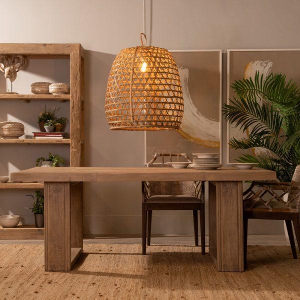 Mesa comedor natural madera de pino
