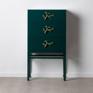 """Armario """"cabinet"""" verde madera de abeto"""