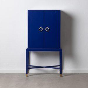 """Armario """"cabinet"""" azul madera de abeto"""