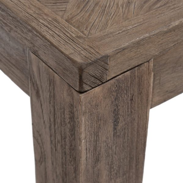 Mesa comedor natural madera salón