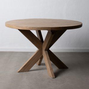 Mesa comedor natural madera de olmo