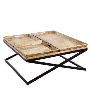Mesa centro madera de mango